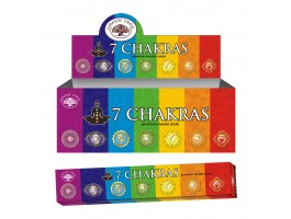 Wierook green Tree 7 Chakra Natural incense